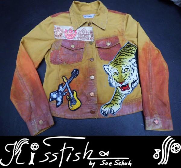 Jeansjacke Tiger on Sun Colours