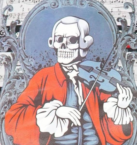 Patch Fleur de Lis Rocking Mozart