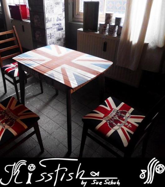 Tisch Unionjack