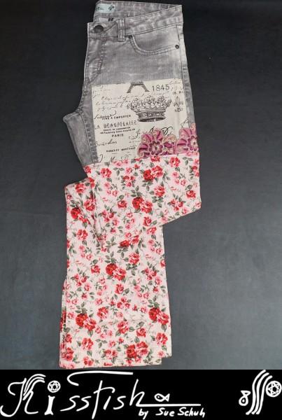 Designer Jeans Vintage Royal Roses