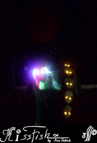Gitarrengurt My Five little Aliens LED