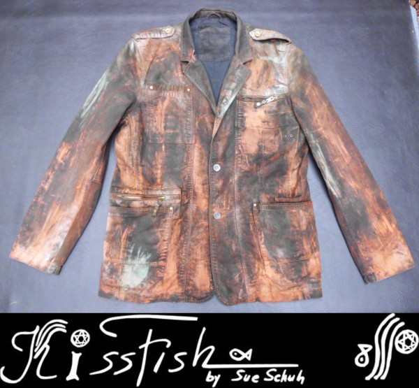 Jeansjacket Rust