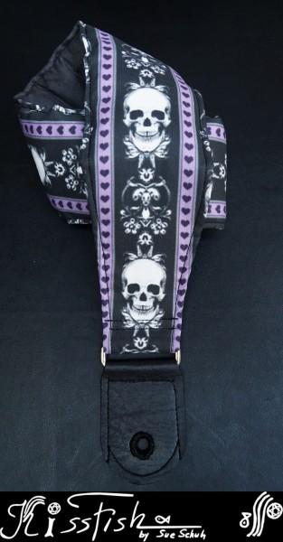 Gitarrengurt Renaissance Skulls