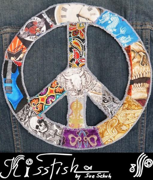 Patch Skulls Peace