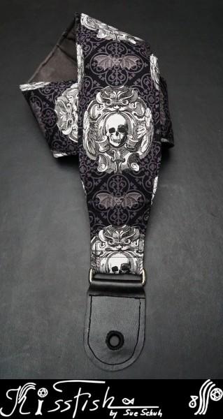 Gitarrengurt Skulls and Bats
